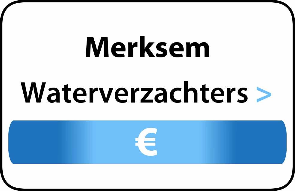 Waterverzachter in de buurt van Merksem