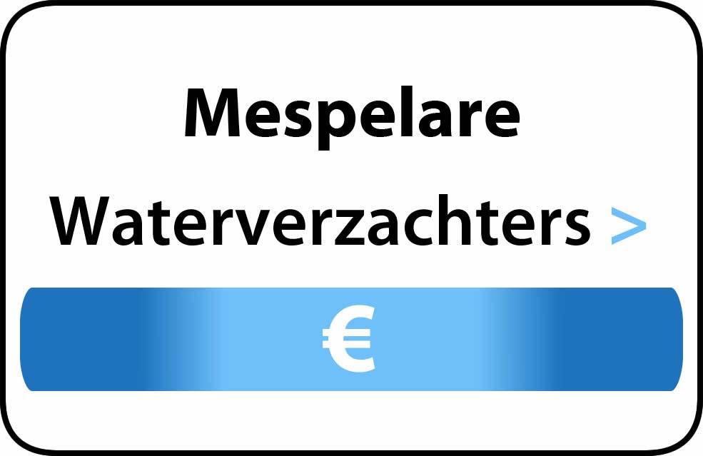 Waterverzachter in de buurt van Mespelare