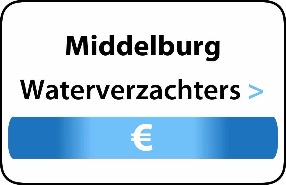 Waterverzachter in de buurt van Middelburg