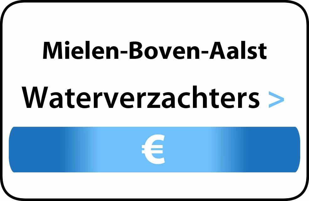 Waterverzachter in de buurt van Mielen-Boven-Aalst