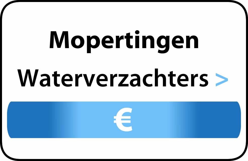 Waterverzachter in de buurt van Mopertingen