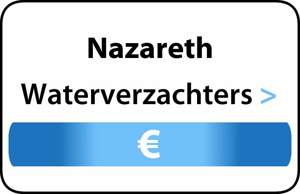 Waterverzachter in de buurt van Nazareth