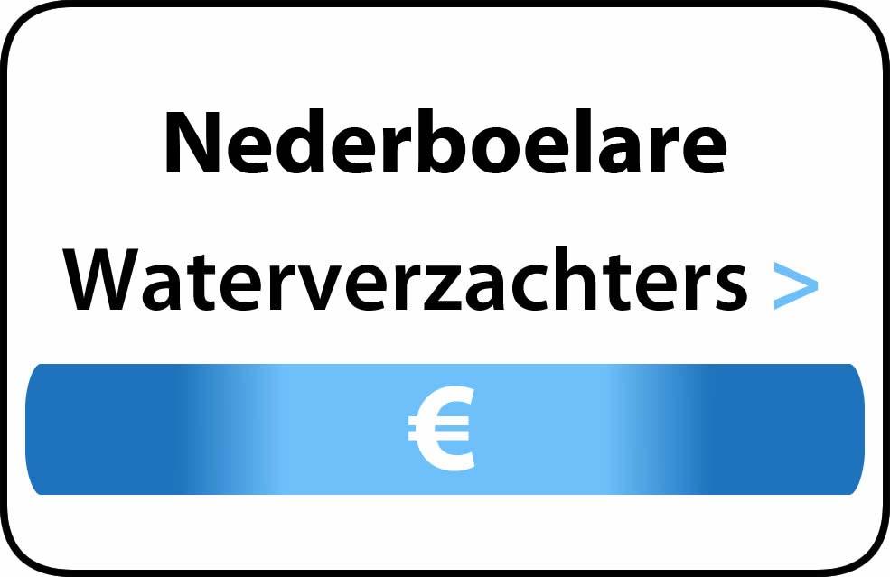 Waterverzachter in de buurt van Nederboelare