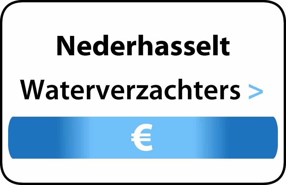 Waterverzachter in de buurt van Nederhasselt