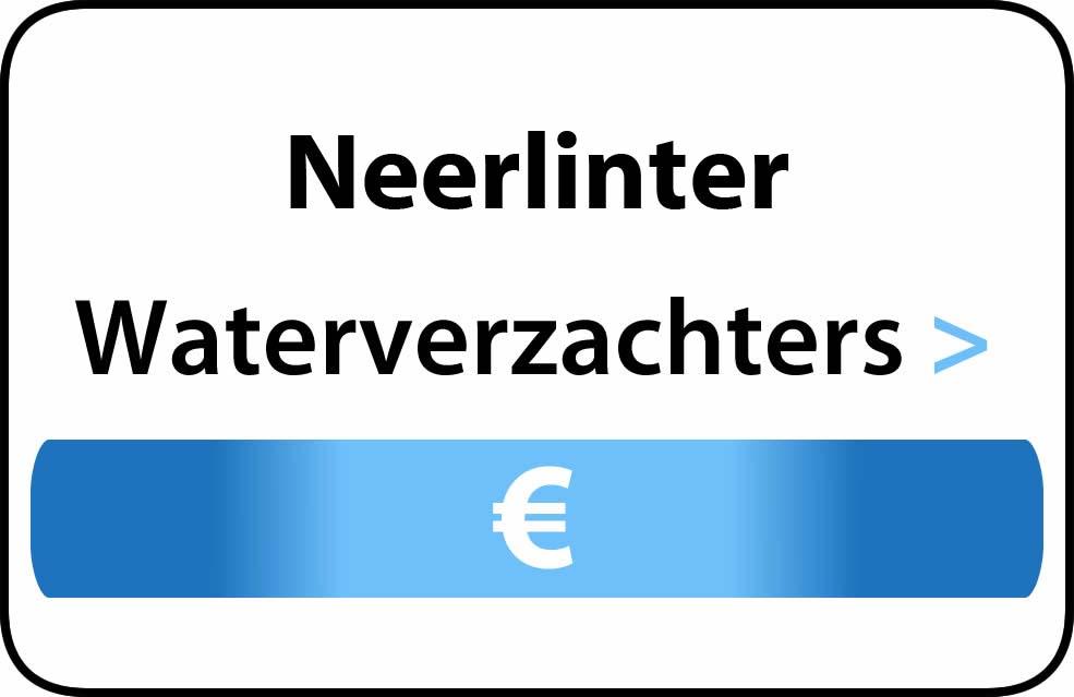 Waterverzachter in de buurt van Neerlinter