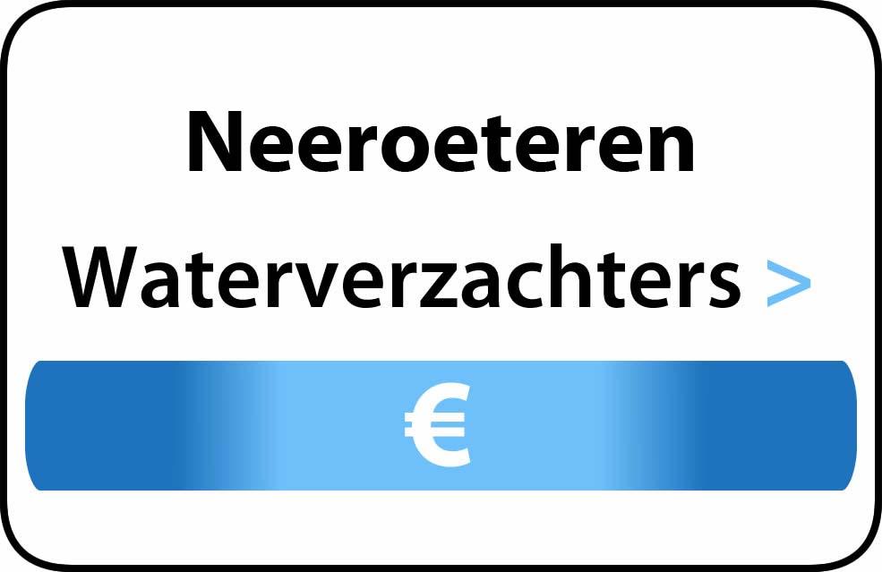 Waterverzachter in de buurt van Neeroeteren