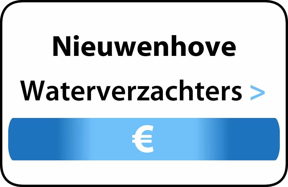 Waterverzachter in de buurt van Nieuwenhove