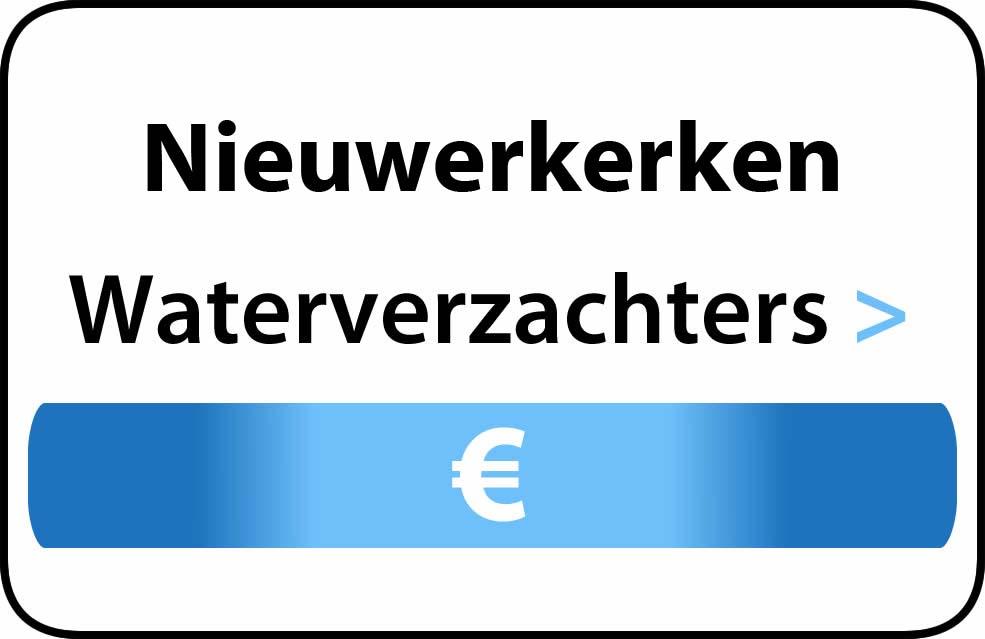 Waterverzachter in de buurt van Nieuwerkerken