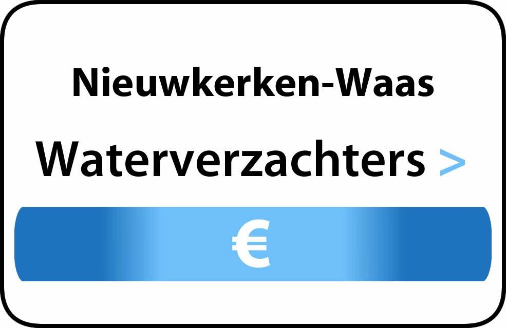 Waterverzachter in de buurt van Nieuwkerken-Waas