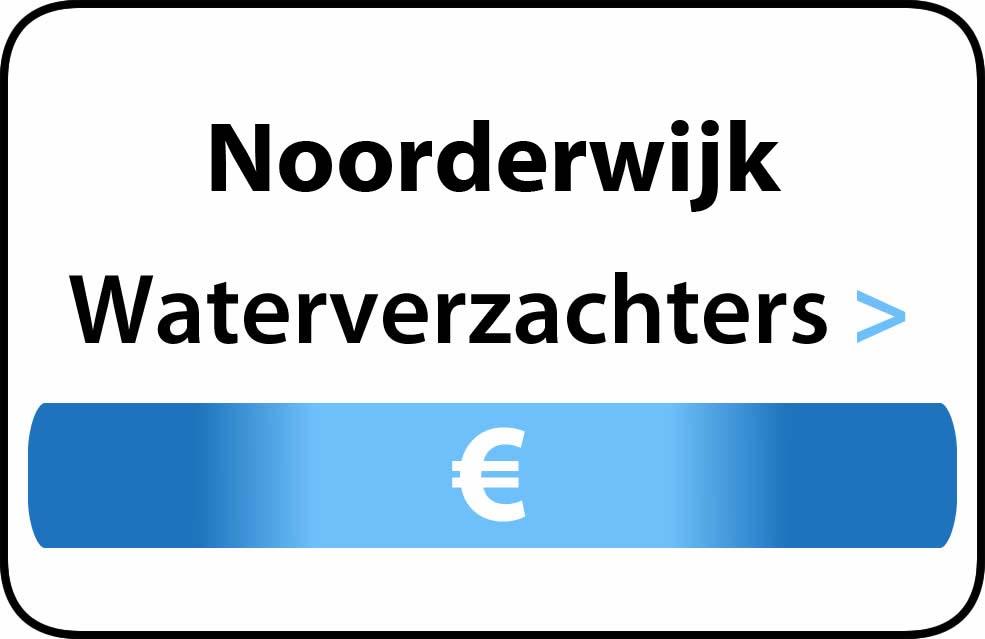 Waterverzachter in de buurt van Noorderwijk