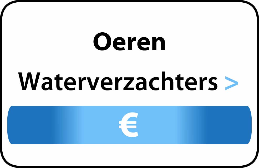 Waterverzachter in de buurt van Oeren