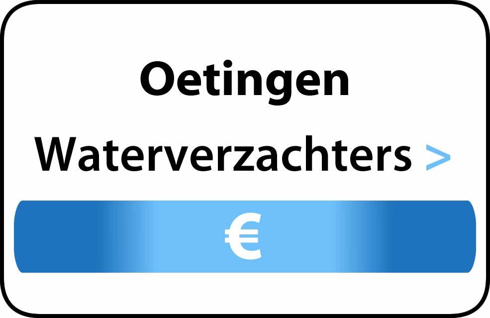 Waterverzachter in de buurt van Oetingen