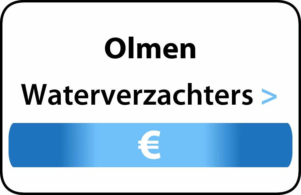 Waterverzachter in de buurt van Olmen