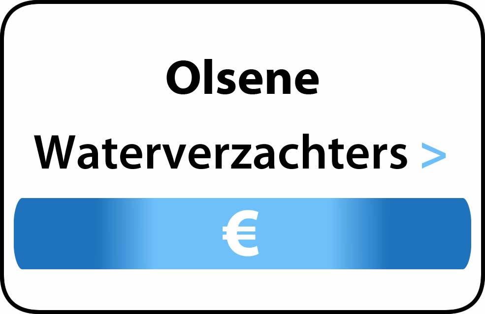 Waterverzachter in de buurt van Olsene