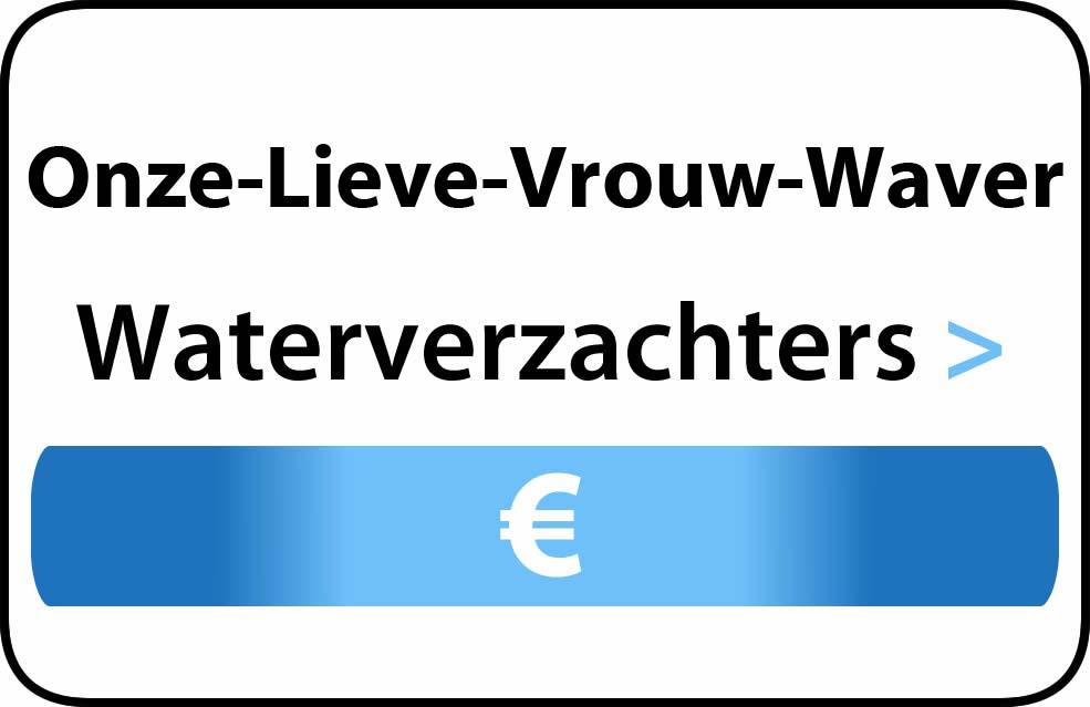 Waterverzachter in de buurt van Onze-Lieve-Vrouw-Waver