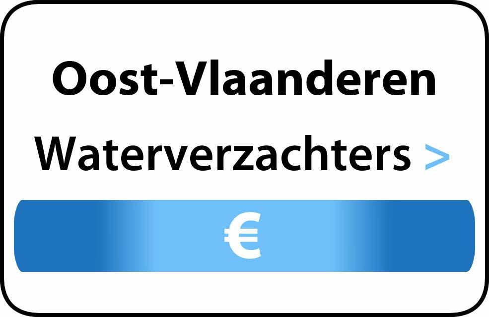 Waterverzachter in Oost-Vlaanderen