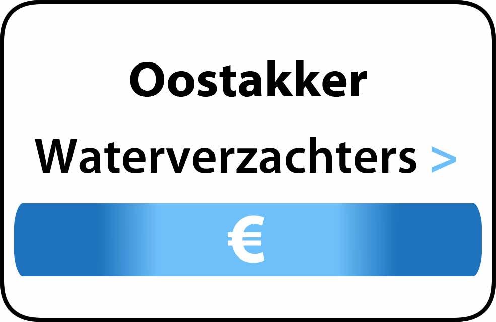 Waterverzachter in de buurt van Oostakker