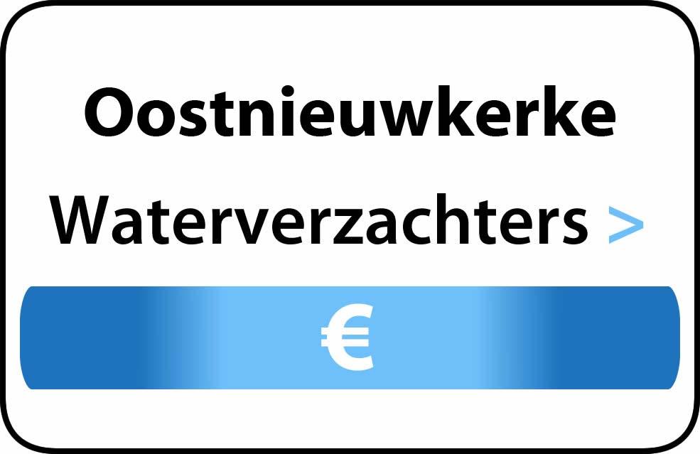 Waterverzachter in de buurt van Oostnieuwkerke