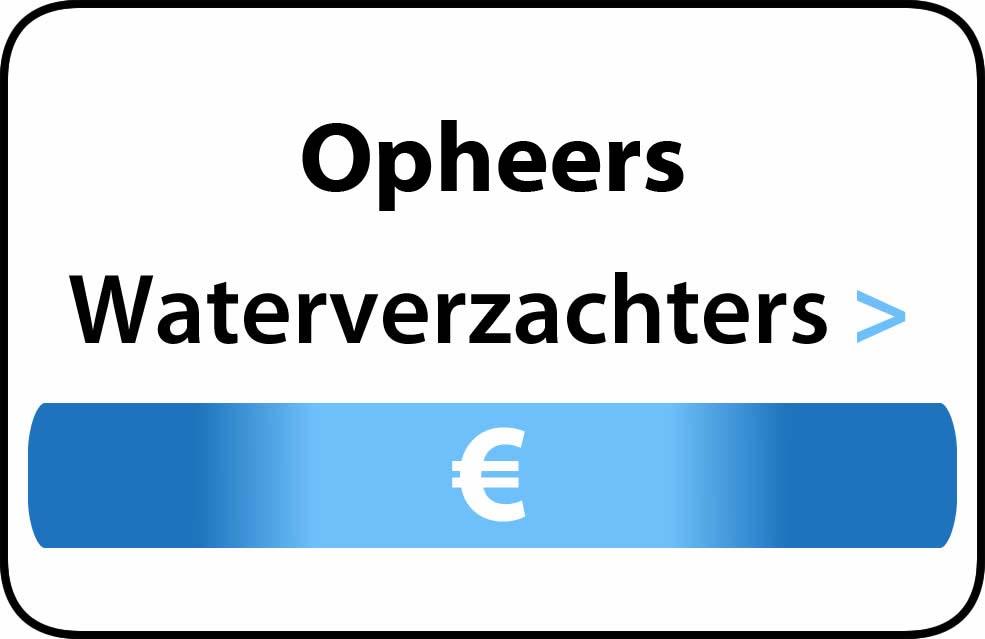 Waterverzachter in de buurt van Opheers
