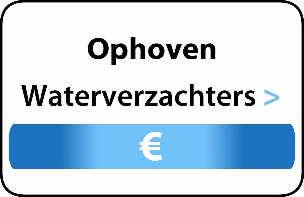 Waterverzachter in de buurt van Ophoven