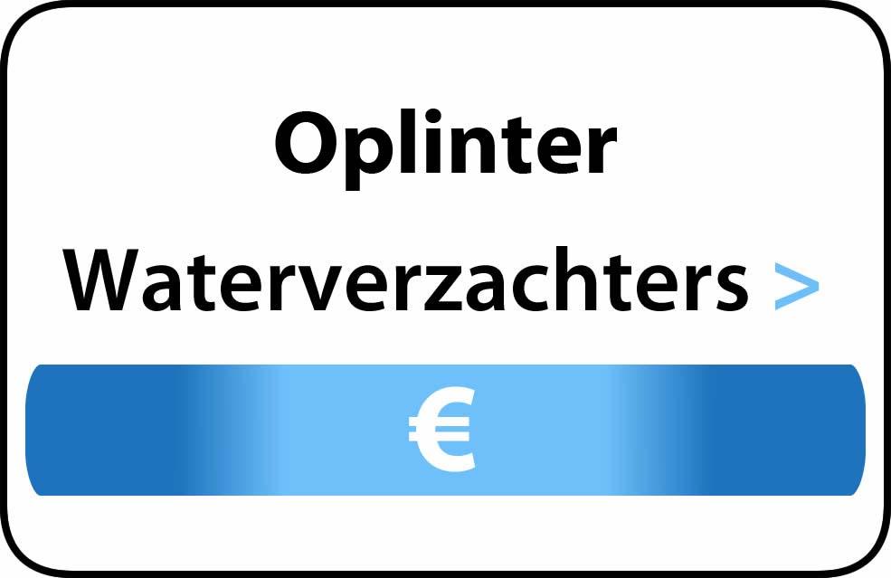 Waterverzachter in de buurt van Oplinter