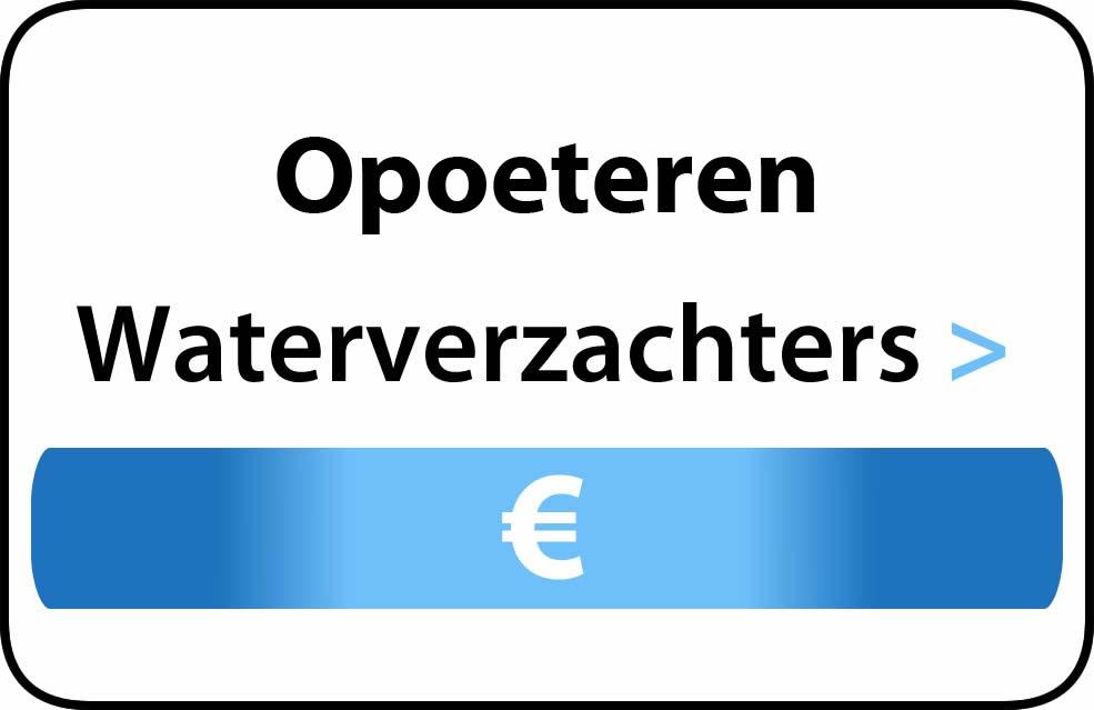 Waterverzachter in de buurt van Opoeteren
