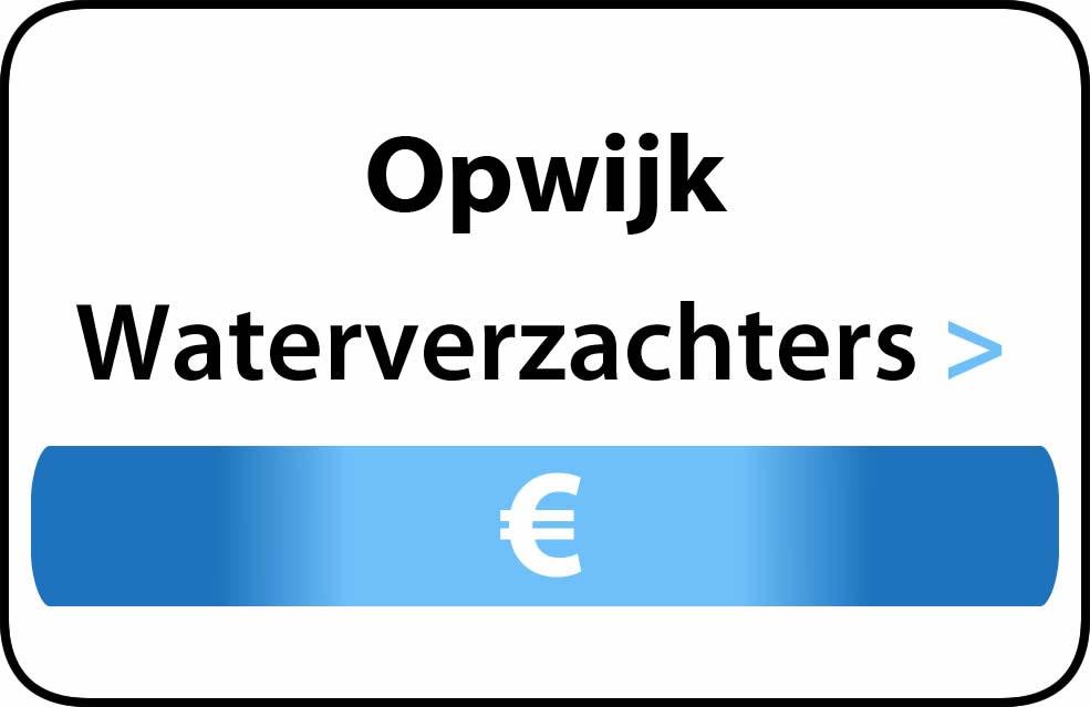 Waterverzachter in de buurt van Opwijk