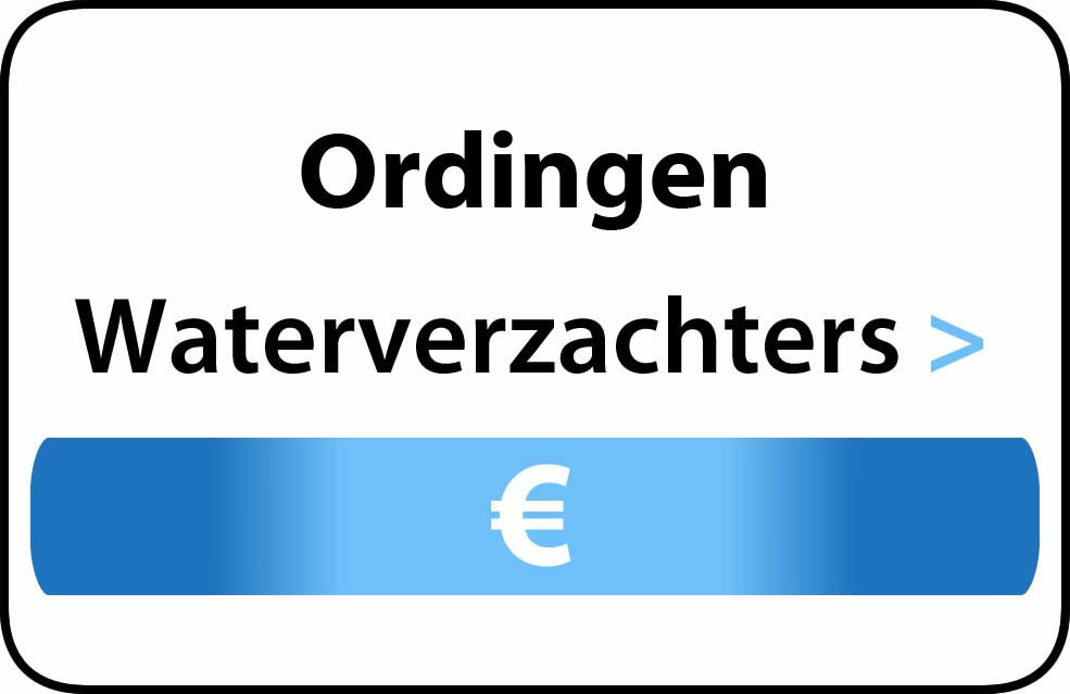 Waterverzachter in de buurt van Ordingen