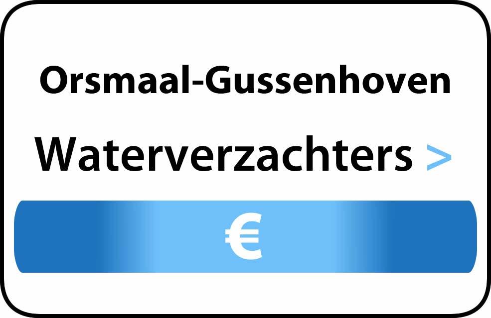 Waterverzachter in de buurt van Orsmaal-Gussenhoven