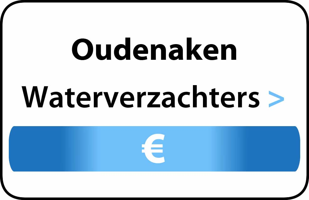 Waterverzachter in de buurt van Oudenaken