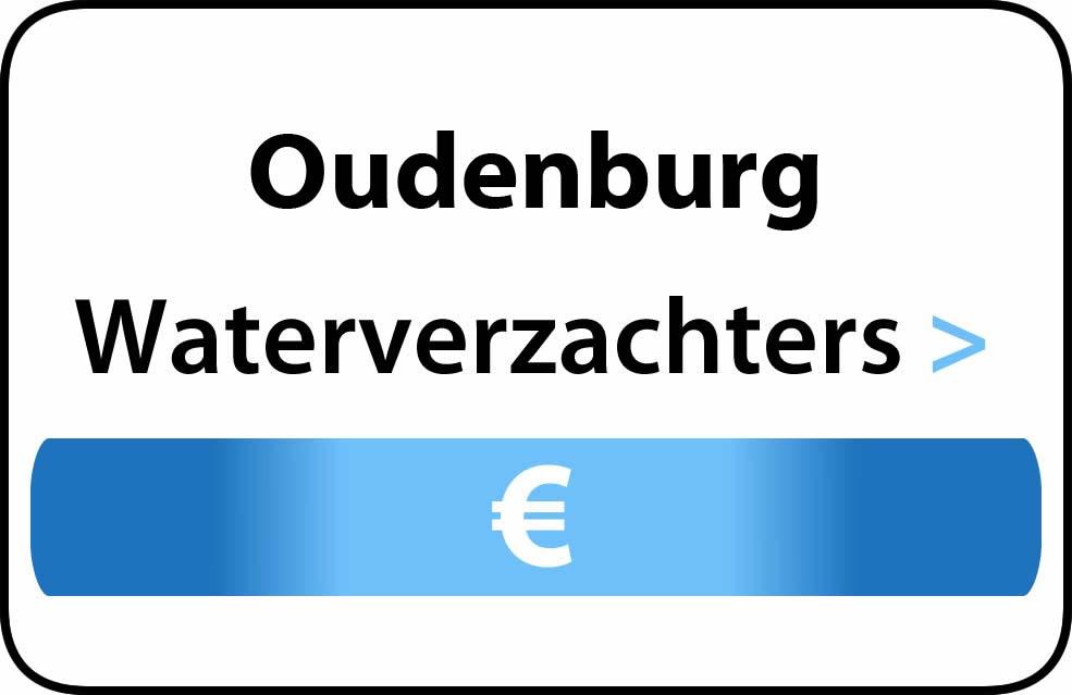 Waterverzachter in de buurt van Oudenburg