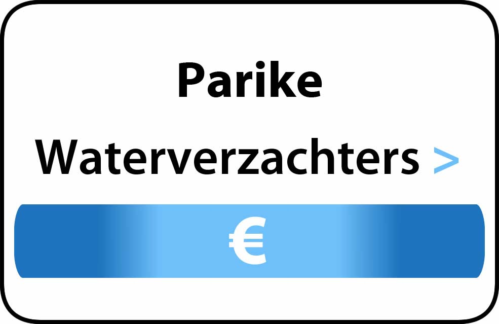 Waterverzachter in de buurt van Parike