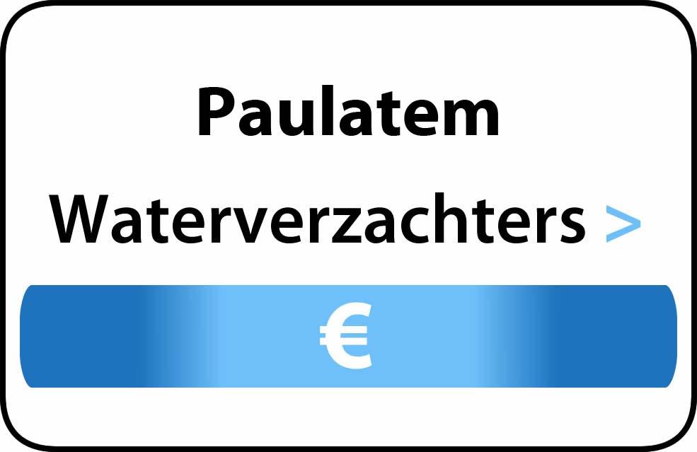 Waterverzachter in de buurt van Paulatem
