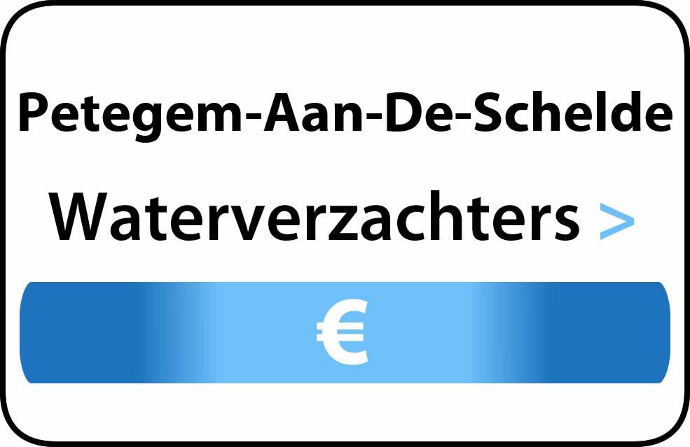 Waterverzachter in de buurt van Petegem-Aan-De-Schelde