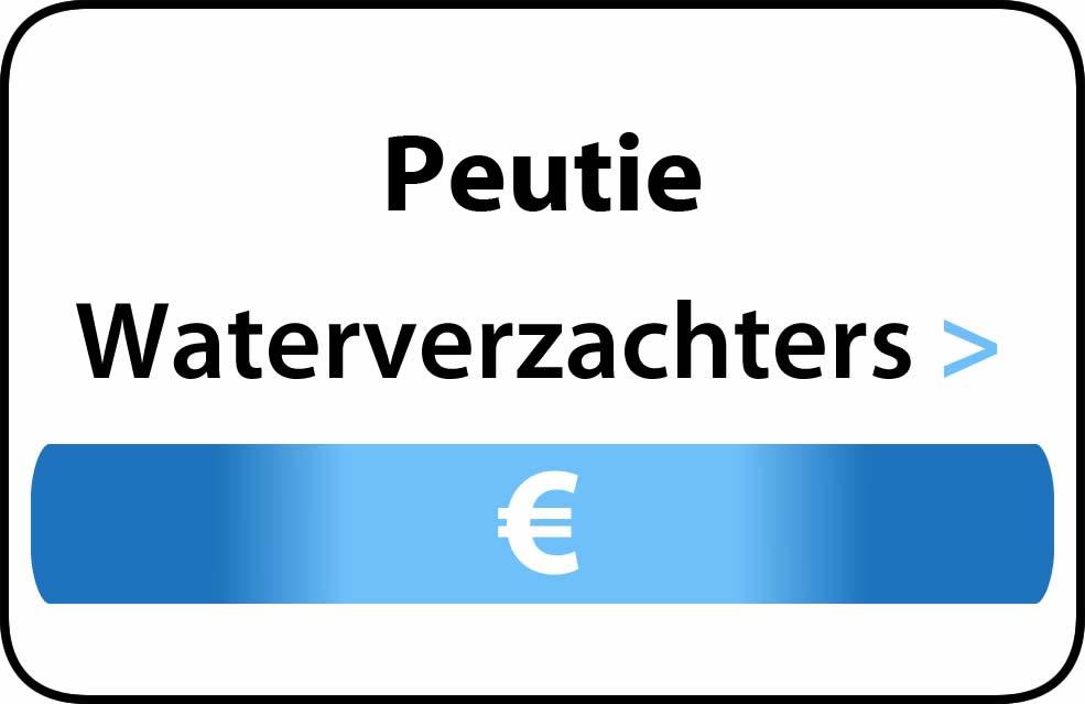 Waterverzachter in de buurt van Peutie