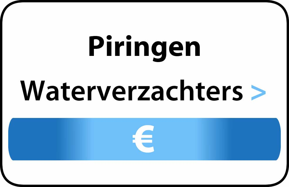 Waterverzachter in de buurt van Piringen