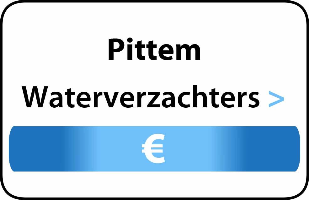 Waterverzachter in de buurt van Pittem