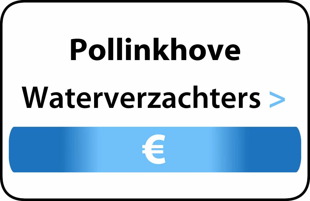 Waterverzachter in de buurt van Pollinkhove