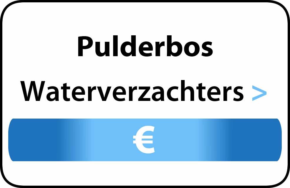 Waterverzachter in de buurt van Pulderbos
