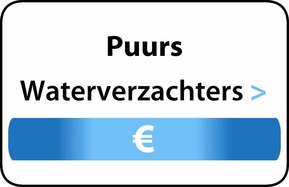 Waterverzachter in de buurt van Puurs