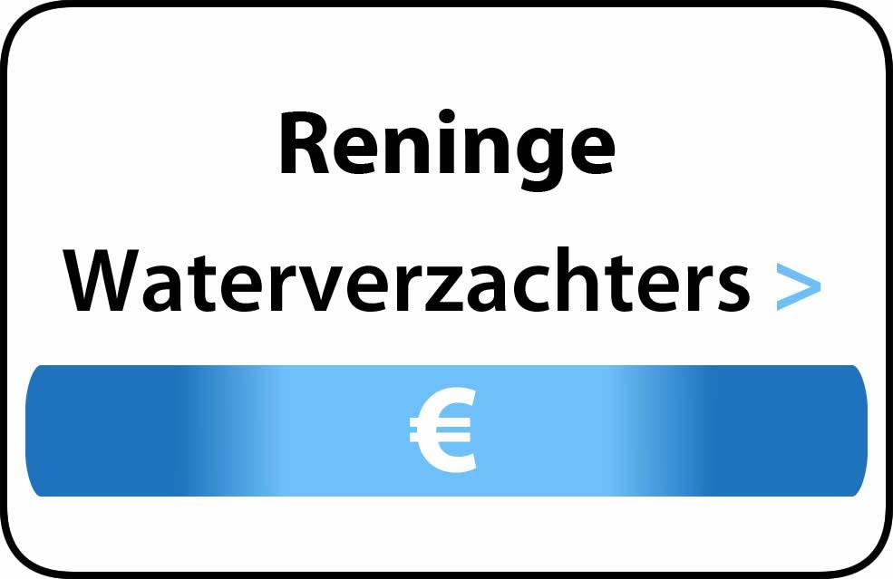 Waterverzachter in de buurt van Reninge