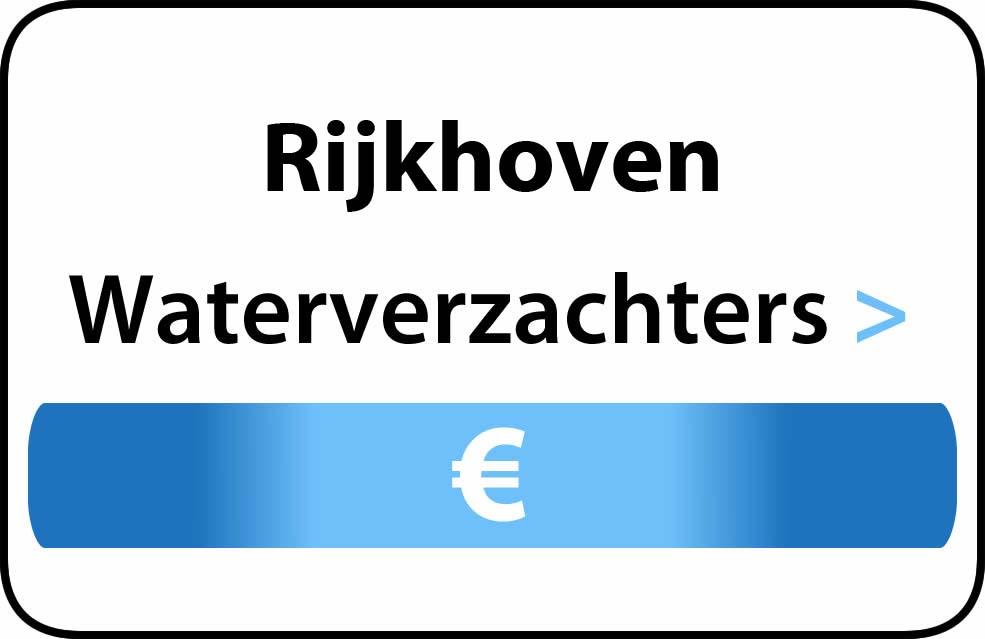 Waterverzachter in de buurt van Rijkhoven