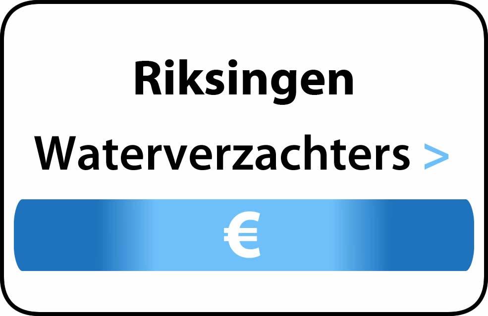 Waterverzachter in de buurt van Riksingen