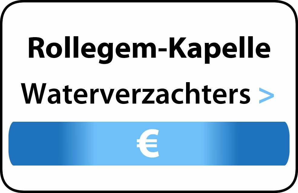 Waterverzachter in de buurt van Rollegem-Kapelle