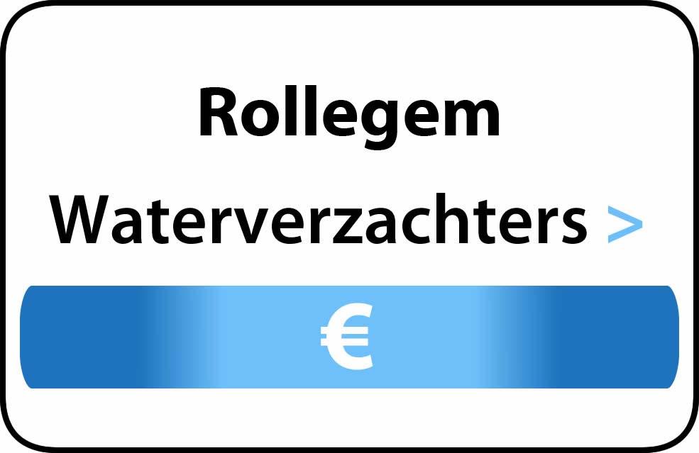 Waterverzachter in de buurt van Rollegem