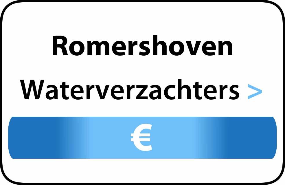Waterverzachter in de buurt van Romershoven