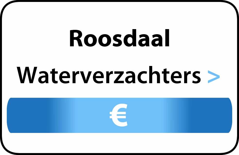 Waterverzachter in de buurt van Roosdaal