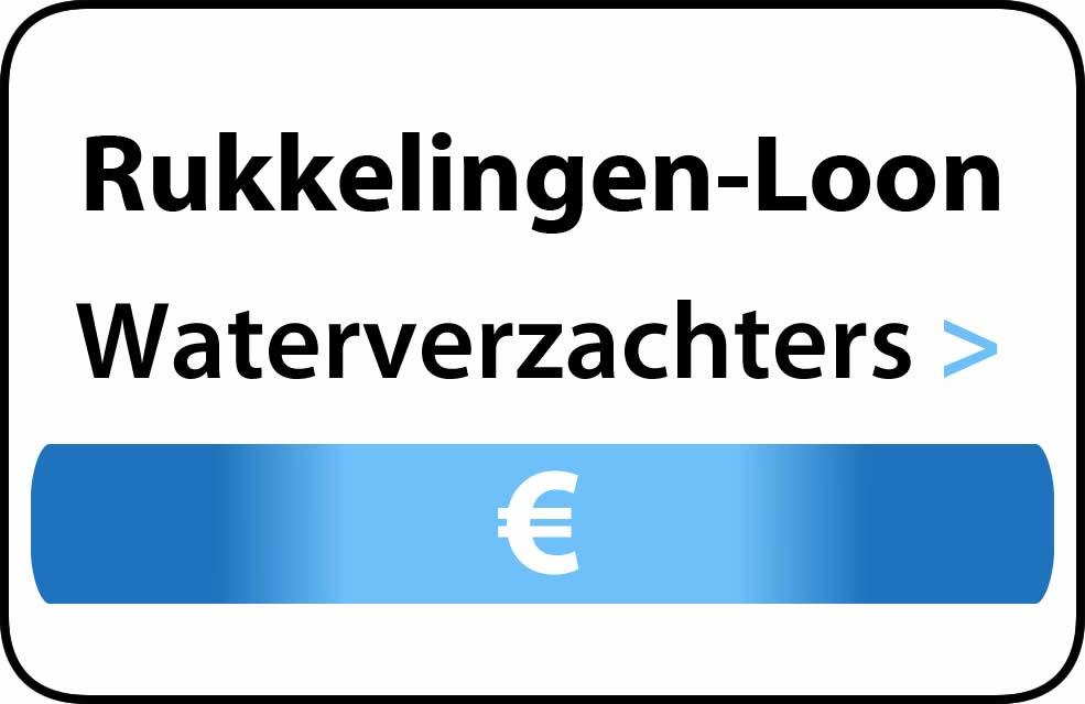 Waterverzachter in de buurt van Rukkelingen-Loon