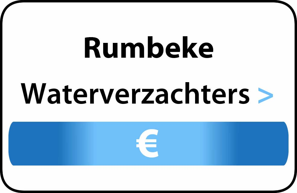 Waterverzachter in de buurt van Rumbeke