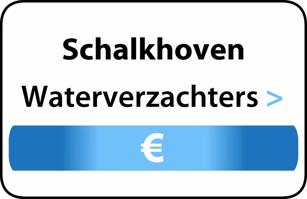 Waterverzachter in de buurt van Schalkhoven